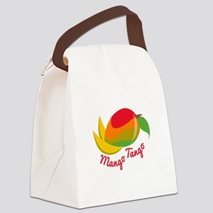 Mango Tango Canvas Lunch Bag