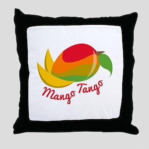 Mango Tango Throw Pillow