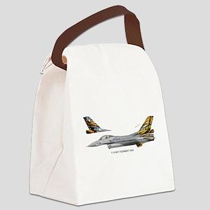 bafTiger06a Canvas Lunch Bag
