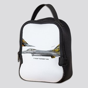 bafTiger06a Neoprene Lunch Bag