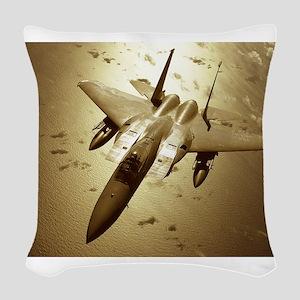010628-F-1718K-008 Woven Throw Pillow