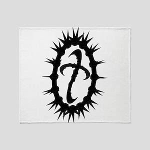 Thorn Logo Throw Blanket