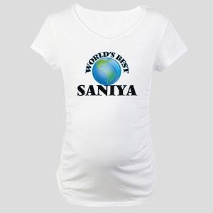World's Best Saniya Maternity T-Shirt
