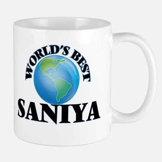 World's Best Saniya Mugs