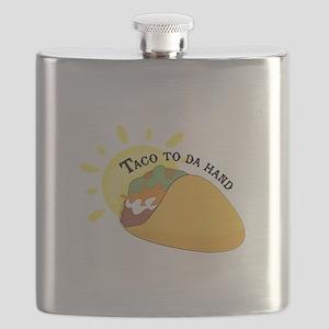 Taco To Da Hand Flask