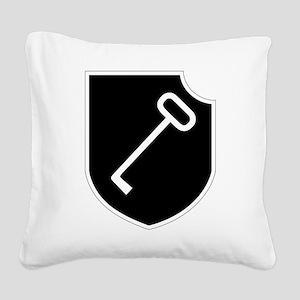 Panzerpionierbataillon 150 Square Canvas Pillow