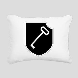 Panzerpionierbataillon 1 Rectangular Canvas Pillow