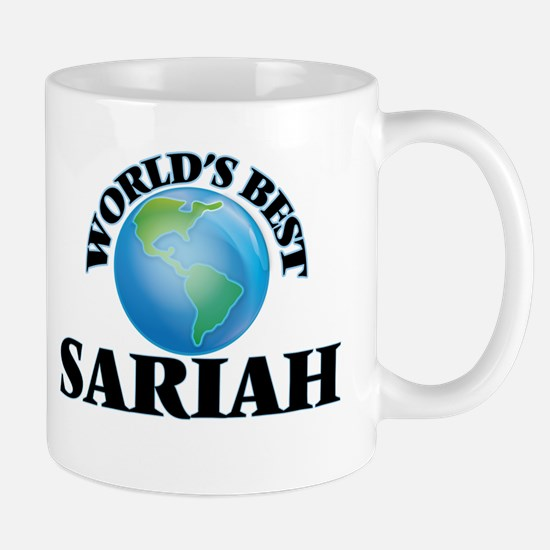 World's Best Sariah Mugs