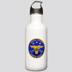 SIXTH FLEET US Navy Mi Stainless Water Bottle 1.0L