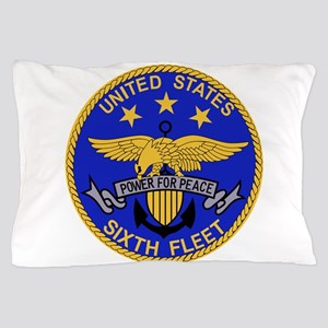 SIXTH FLEET US Navy Military PATCH Pillow Case