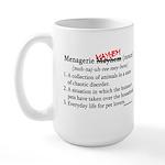 Menagerie Mayhem Large Mug