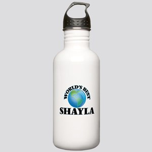 World's Best Shayla Stainless Water Bottle 1.0L