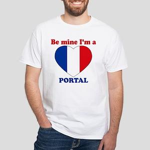 Portal, Valentine's Day White T-Shirt