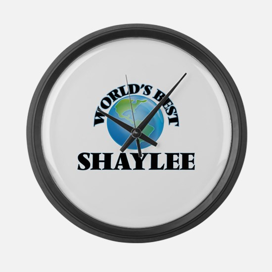 World's Best Shaylee Large Wall Clock