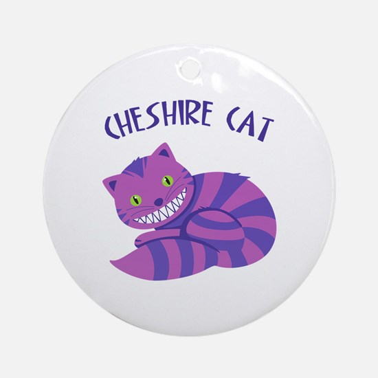 Cheshire Cat Ornament (Round)
