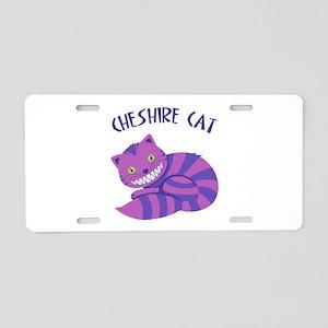 Cheshire Cat Aluminum License Plate
