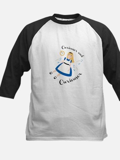 Curiouser and Curiouser Baseball Jersey