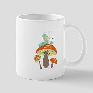 Mushroom Caterpillar Mugs