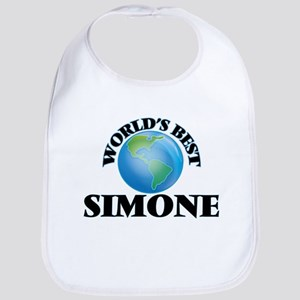 World's Best Simone Bib