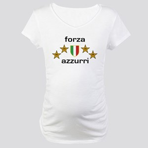 Forza Azzurri Maternity T-Shirt