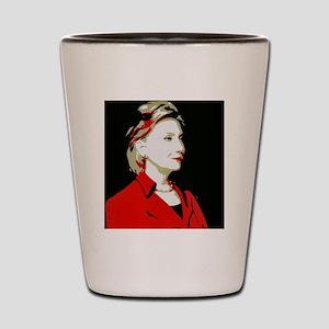 Hillary Clinton 2016 Shot Glass