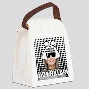 Hillary Clinton 2016 Canvas Lunch Bag