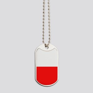 Poland Flag Dog Tags
