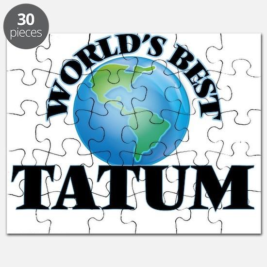 World's Best Tatum Puzzle