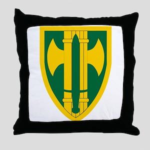 18th MP Brigade Throw Pillow