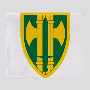 18th MP Brigade Throw Blanket