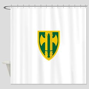 18th MP Brigade Shower Curtain