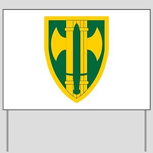 18th MP Brigade Yard Sign