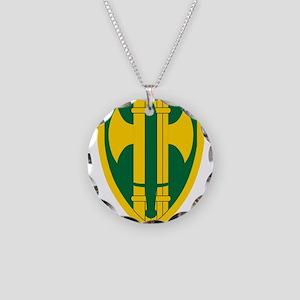 18th MP Brigade Necklace Circle Charm