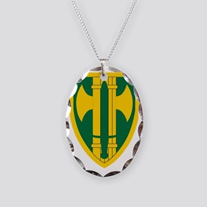 18th MP Brigade Necklace Oval Charm