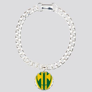18th MP Brigade Charm Bracelet, One Charm