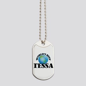 World's Best Tessa Dog Tags