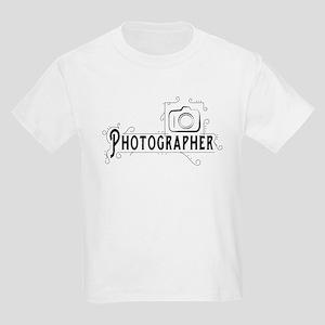Photographer Kids Light T-Shirt