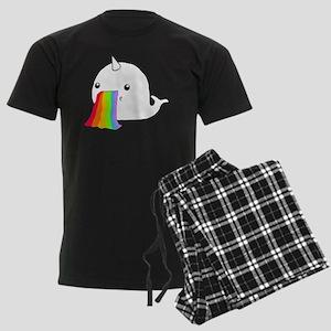 Rainbow Spit Men's Dark Pajamas