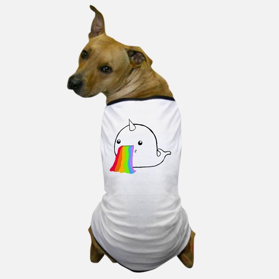 Rainbow Spit Dog T-Shirt
