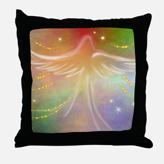 Spirit Angel Throw Pillow