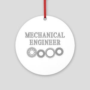 Mechanical Engineer Ornament (Round)