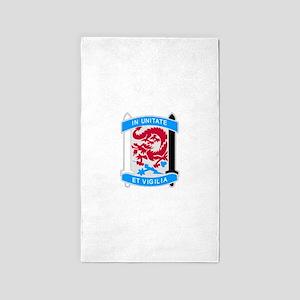 501st Military Intelligence Brigade 3'x5' Area Rug