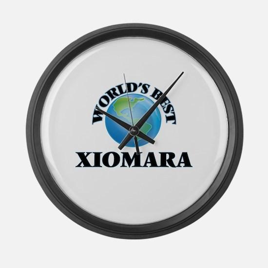 World's Best Xiomara Large Wall Clock