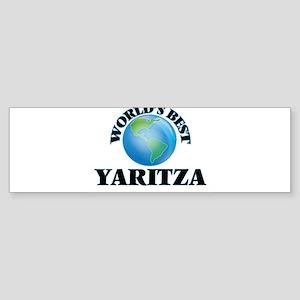 World's Best Yaritza Bumper Sticker