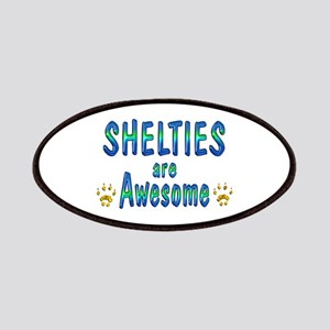 Shelties are Awesome Patches