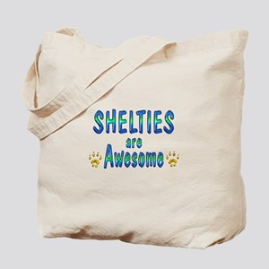 Shelties are Awesome Tote Bag