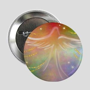 """Spirit Angel 2.25"""" Button"""