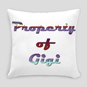 Property Of Gigi Female Everyday Pillow