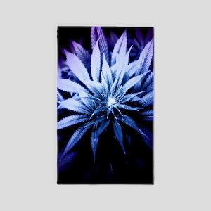 Blue Kush 3'x5' Area Rug