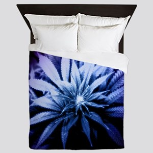 Blue Kush Queen Duvet
